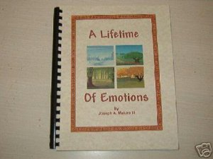 A Lifetime Of Emotions  poem book