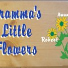 HAND PAINTED PERSONALIZED WOOD SIGN