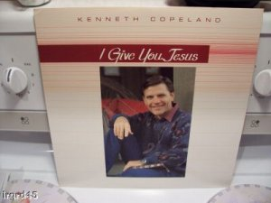 "Kenneth Copeland ""I Give You Jesus 12"" Vinyl"