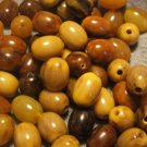 20 VINTAGE BAKELITE JEWELRY MAKING LOOSE BEADS 10MM MIX LOT