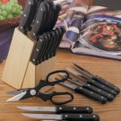 22 piece knife set