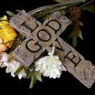 Wall Cross Love GOD