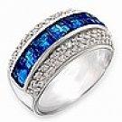 Montana Blue Baguette Ring  FREE SHIPPING