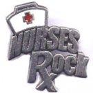Nurses Rock pin free shipping