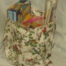 Bird Themed Tote Bag