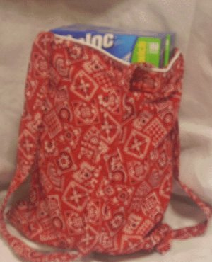 Red Handkerchief Pattern Tote Bag