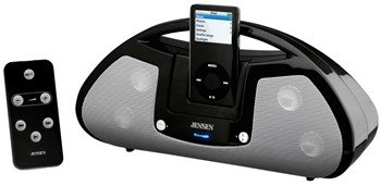 JENSEN JiSS-120 Universal iPod® Docking Station