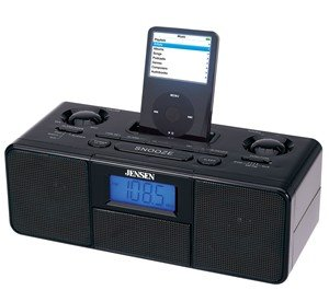 JENSEN Docking Digital Music System for iPod®