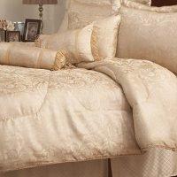 Pem America Velez Gold King Comforter Set with Bonus Pillows