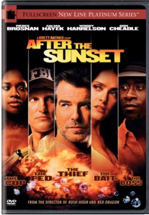After The Sunset DVD