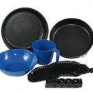 GSI 6 Piece Hard Anodized Extreme Mess Kit