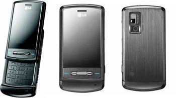 LG KE970 SHINE Black Unlocked GSM Cell Phone