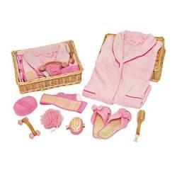 Spa Saka Nine Piece Gift Set in Pink