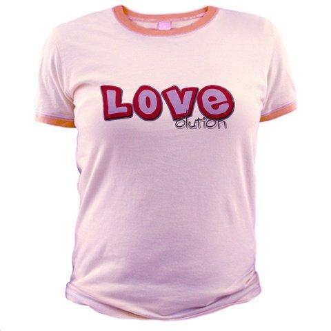 LOVEolution Pink Ringer Tee