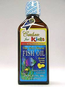 Carlson® for Kids Fish Oil Lemon Flavor 200 ml