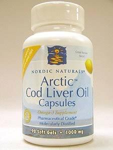 Arctic� Cod Liver Oil Capsules - 90 gels