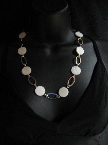 """24"""" White Shell Necklace"""