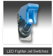FIGHTER JET LED SWITCH