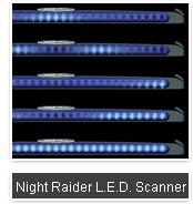 NIGHT RAIDER LED SCANNER