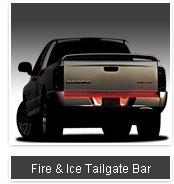"""FIRE & ICE LED TAILGATE BAR(36"""" FOR STEPSIDE TRUCKS)"""