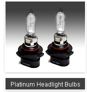 Platinum Series headlights - 10 year warranty