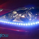 LIGHTNING EYES LED HEADLIGHT KIT - blue
