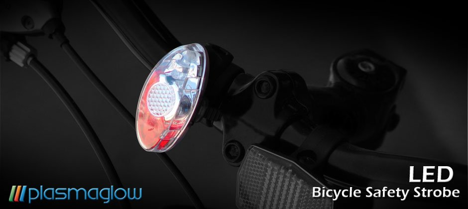 LED Bicycle Safety Strobe - great for joggers/walkers too