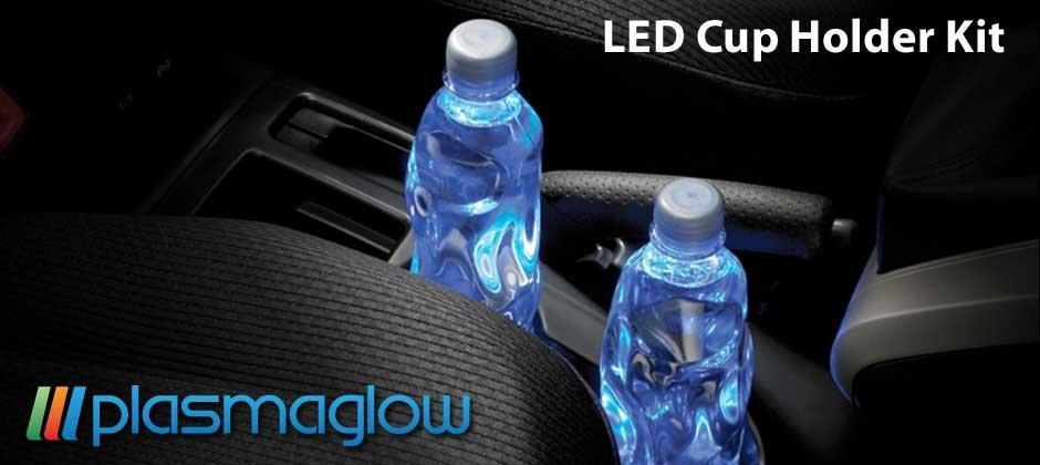 LED Cup Holder Kit - green