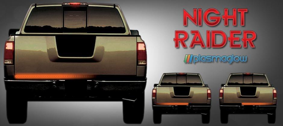 "NIGHT RAIDER  SCANNING LED TAILGATE BAR (36"")"