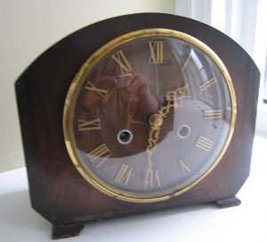 Smith's Enfield , Small Mantle Clock