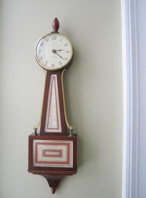 Vintage Seth Thomas Banjo Clock
