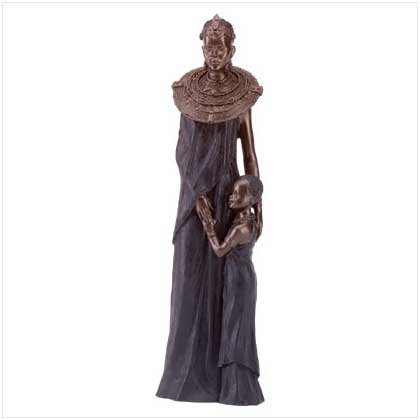 Masaai Mother & Child