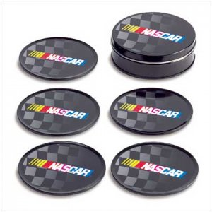 Nascar Tin Coaster Set