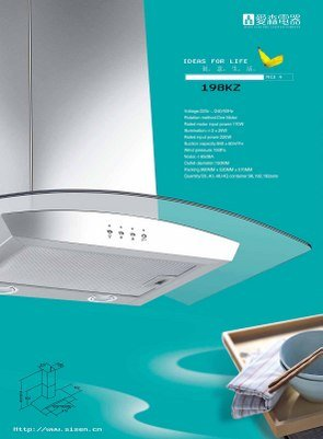 "30"" Euro-style range hood. Vent or ventless. new model"