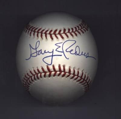 Pirates Autgraphed Baseball Gary Redus