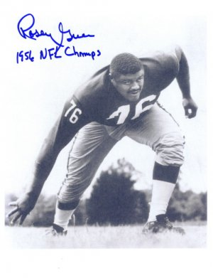 New York Giants Signed Photo Rosey Grier