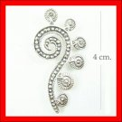 .925 Sterling Silver Marcasite QuestionMark Pendants