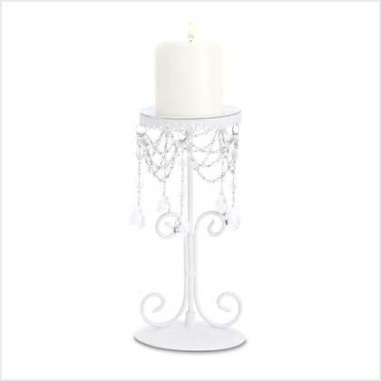 Elegant Beaded Candleholder