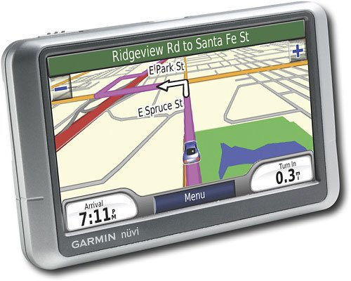 Garmin nuvi 250W GPS - factory refurbished