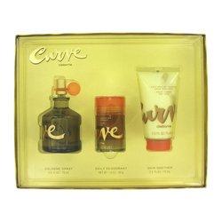 CURVE by Liz Claiborne  Gift Set  2.5 oz Cologne Spray + 2.5 oz Skin Soother  1 oz Deodorant Stick