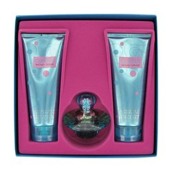 Curious by Britney Spears 1.7 oz Eau De Toilette Spray 6.7 oz Body Lotion  6.7 oz Shower Gel