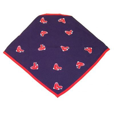 Boston Red Sox Logo Dog Bandana Size Small