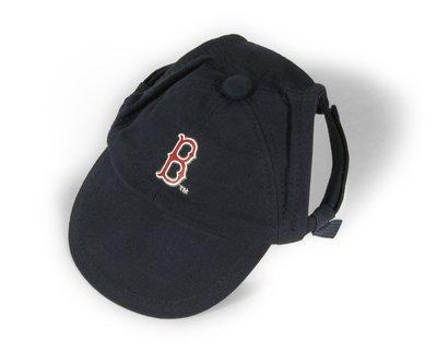 Boston Red Sox Logo Dog Baseball Cap Hat Size Medium/Large