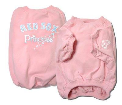 Boston Red Sox Princess Pink Dog Shirt Size Small