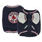 Boston Red Sox Varsity Style Dog Jacket Coat Size XXS