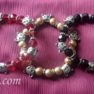 Kitty lover's beaded bracelet