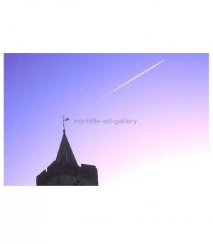 FLIGHT OVER DUNBLANE CATHEDRAL LIMITED EDITION PHOTOGRAPHIC PRINT