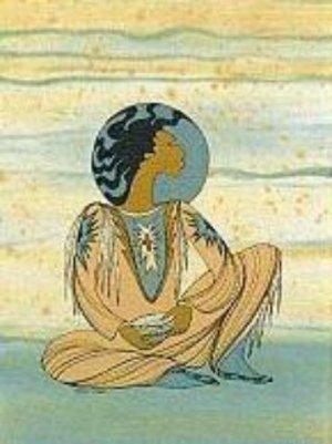 """Native Print """"Ioyan Mani"""""""