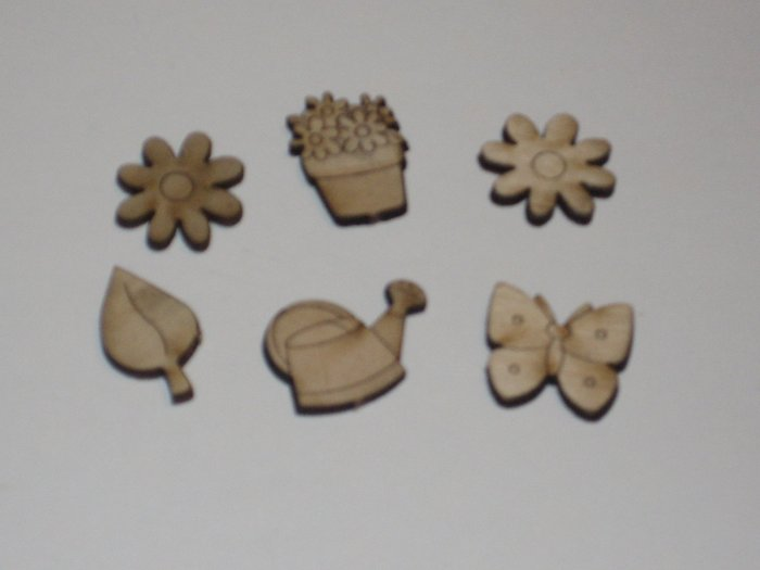 Gardening Buttons/Charms