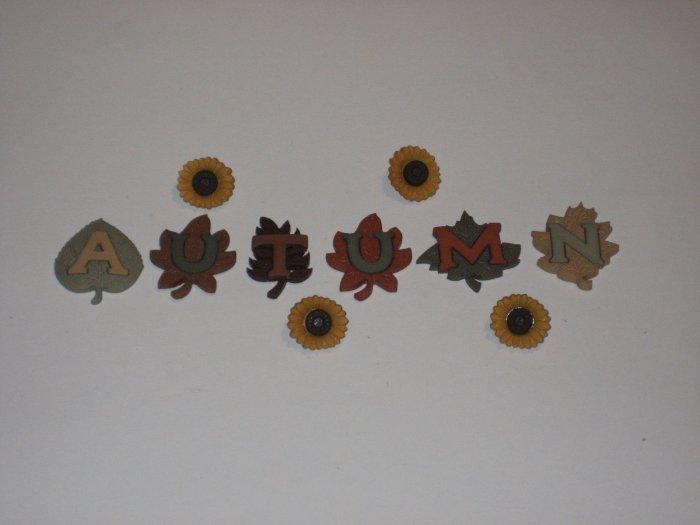 Autumn Buttons